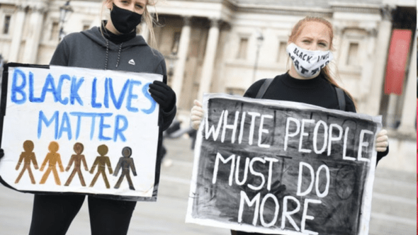 white People Protesting For George Floyd Are NOT Your Allies – They Are Your Enemy
