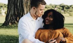 Black women & white men