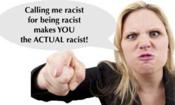 Reverse racism and white fragility