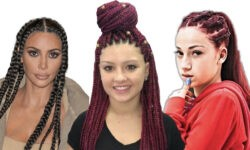 White Women With Box Braids, Cornrows & Turning Straight Hair Afro - Cultural Appropriation