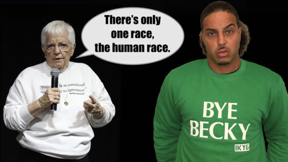 Jane Elliott – There's Only One Race, The Human Race & I Don't See Color