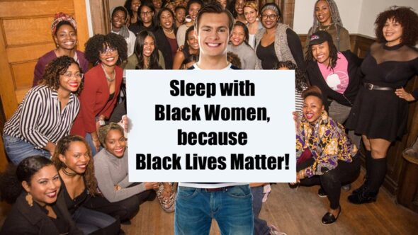 "White Man Wants To ""Swirl"" With Black Women To Prove Black Lives Matter"