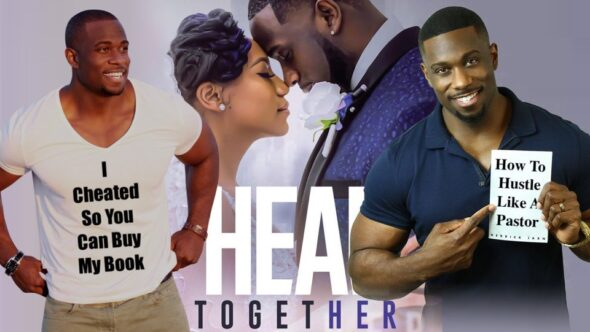 Derrick Jaxn cheated on his wife & lied so he could sell his book How To Heal Together. But find out the complete truth here.