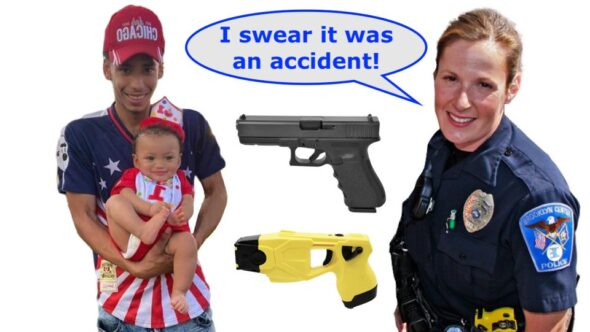 """Officer Becky Murders Innocent Young Black Man By """"Accident"""""""