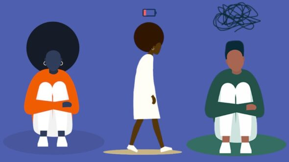 Mental health issues in the Black community. Black men and women mental health and illness.