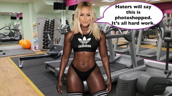 Dumblonde and Danity Kane member Aubrey O'Day photoshopped a Black woman out of her photo and then replacing her with an image of herself.