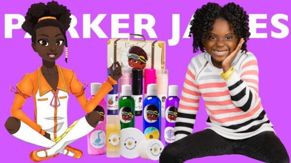 Who is Parker James? Parker James is the world's youngest entrepreneur and philanthropist. She's making big moves, pay attention.