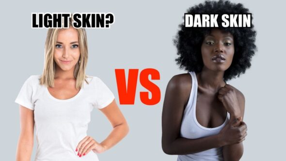 What is light skin vs dark skin? Are white people light skinned while Black people are dark skinned? This video will blow your mind.