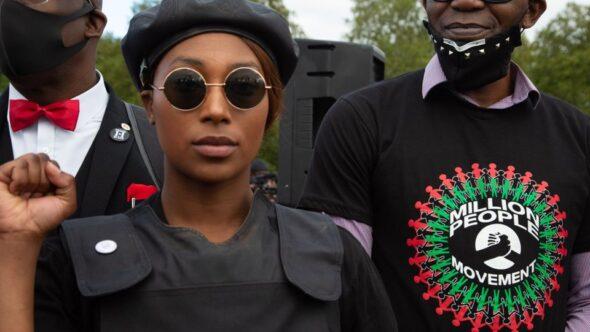 Black Female Activist Shot In The Head