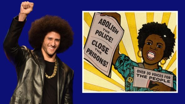 Colin Kaepernick & The Artwork For The Cover Of His New Book