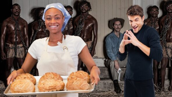This is not about a baker & a loaf of bread. This is about something much more sinister. An analogy for slavery & colonization.