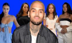 Chris Brown only likes Black women with nice/good Hair. Stop using the word preference to hide your hatred and discrimination.