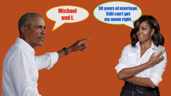 Did Barack Obama slip up and expose Michelle Obama's real name? Is Michelle Obama Really a man called Michael?